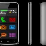 Snadno dostupný a přístupný telefon pro seniory i slabozraké