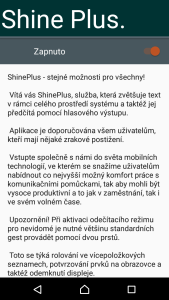 ShinePlus - screenshot