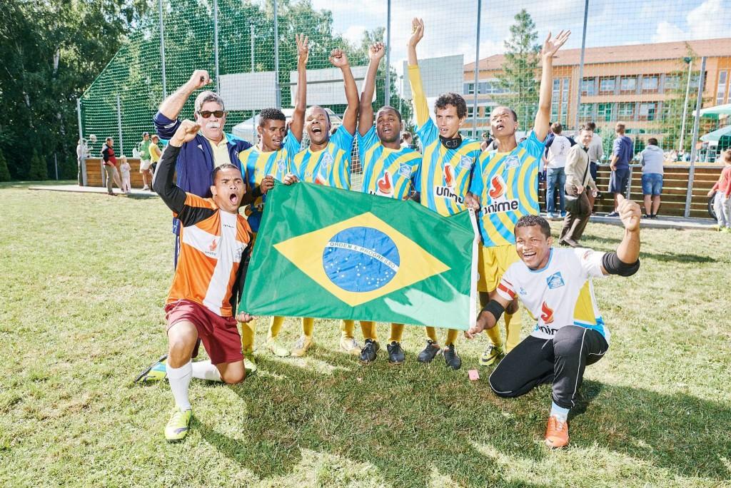 Vítězný brazilský tým ICB Bahia