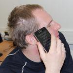 Přístupnost mobilních aplikací pro nevidomé uživatele