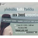 Přístupnost fyzického a digitálního prostředí pro zrakově postižené – pozvánka na přednášku na FAST VUT v Brně