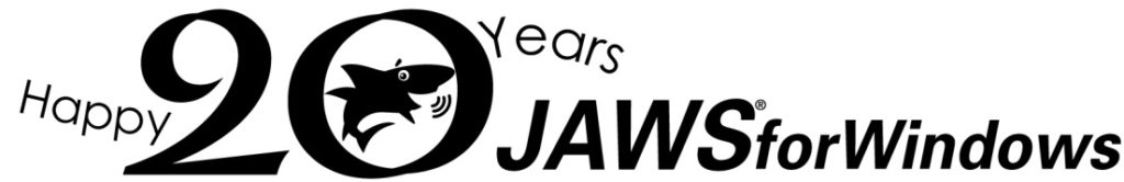 JAWS 20th Anniversary - logo