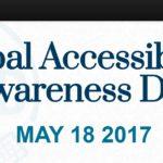 Dnes probíhá 6. Světový den propagace přístupnosti