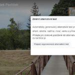Strojové popisování obrázků – jak moc je přínosné pro uživatele?
