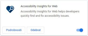 Accessibility Insights for Web