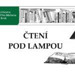 Pozvánka na Čtení pod lampou v Knihovně Jiřího Mahena