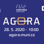 Jarní Agora 2020 ONLINE: sledujte živý přenos plenární sekce