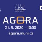 Jarní Agora 2020 ONLINE: začínáme ve čtvrtek 28. 5. v 10.00