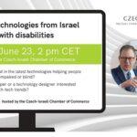 Pozvánka na webinář o izraelských asistivních technologiích pro uživatele se zdravotním postižením