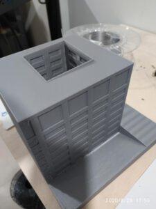 3D model FA ČVUT